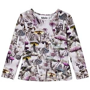 Molo Girls Tops Green Rosalind Long Sleeve Tee Enchanted Forrest