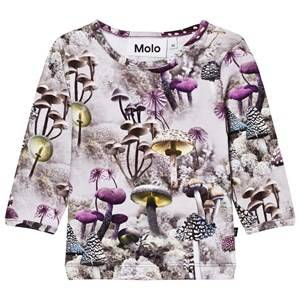Molo Girls Tops Green Eva Tee Enchanted Forrest