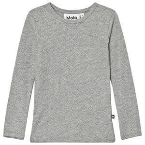 Molo Girls Tops Grey Ramona Tee Grey Melange