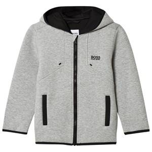 Boss Boys Jumpers and knitwear Grey Grey Marl Neoprene Hooded Jacket