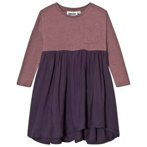 Molo Girls Dresses Purple Calla Dress Purple Mist