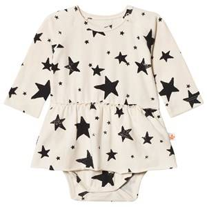 Noe & Zoe Berlin Girls Underwear Black Black Stars Baby Body