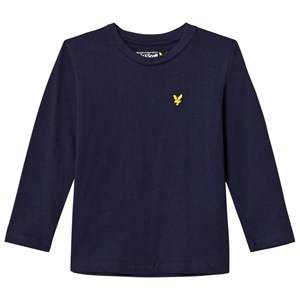Scott Lyle & Scott Boys Tops Navy Navy Long Sleeve Tee