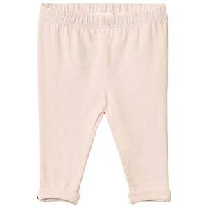 Chloé Girls Bottoms Pink Pale Pink Legging Gold Button Detail