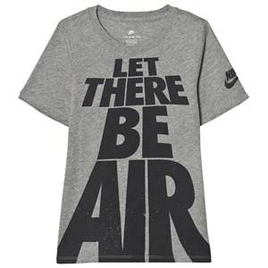 NIKE Boys Tops Grey Grey Let There Be Air Tee