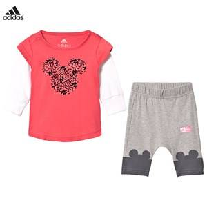adidas Performance Boys Clothing sets Pink Disney Micky Mouse Infants Tee and Leggings Set