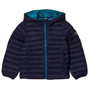 Joules Boys Coats and jackets Navy Navy Hooded Pack-Away Puffer Jacket