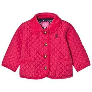 Joules Girls Coats and jackets Pink Pink Quilted Jacket
