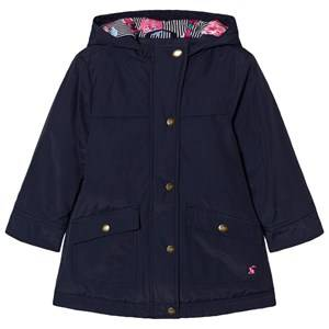 Joules Girls Coats and jackets Navy Navy Hooded Parka