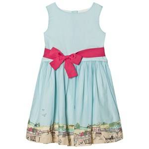 Joules Girls Dresses Blue Blue Dress Waistband