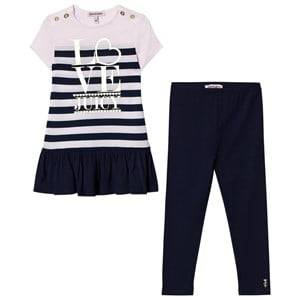 Juicy Couture Girls Dresses Navy Navy Set Dress Leggings