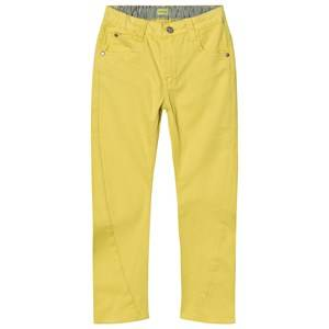 Mini A Ture Unisex Bottoms Yellow Yellow Jeans