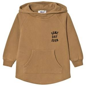 Someday Soon Boys Jumpers and knitwear Khaki Monterey Hoodie Khaki