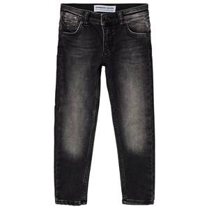 Someday Soon Boys Bottoms Washed Bla Jonas Denim Washed Black