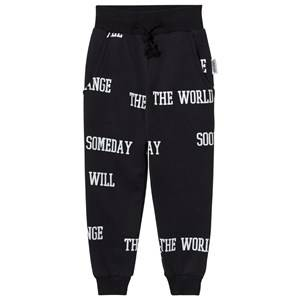 Someday Soon Boys Bottoms Black World Pants Black