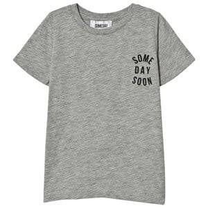 Someday Soon Boys Tops Grey Mela Revolution Tee Grey Melange