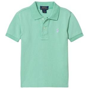 Ralph Lauren Boys Tops Green Lime Classic Polo
