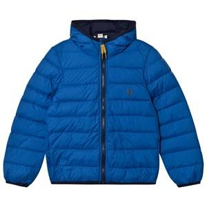 Timberland Boys Coats and jackets Blue Royal Blue Water Repellent Ultralight Hooded Puffer