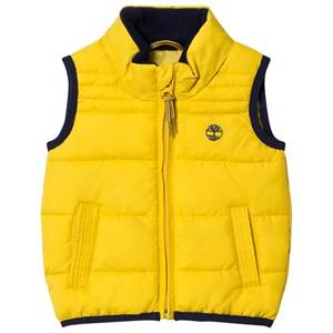Timberland Boys Coats and jackets Yellow Yellow Puffer Hooded Vest