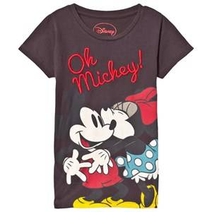Fabric Flavours Unisex Tops Grey Oh Mickey! T-shirt