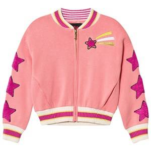 Juicy Couture Girls Coats and jackets Pink Pink Knit Unicorn Star Bomber Jacket