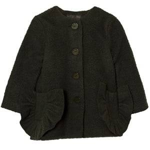 Wolf & Rita Girls Coats and jackets Grey Adriana Coat Green