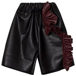 Wolf & Rita Girls Bottoms Black Susana Trousers Black