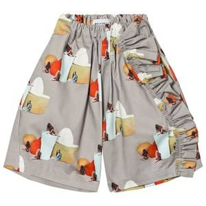 Wolf & Rita Girls Bottoms Beige Susana Trousers No Electricity