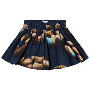 Wolf & Rita Girls Skirts Blue Carla Mini Skirt Peanuts