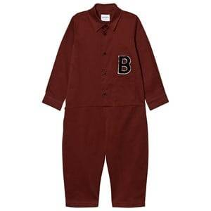 Wolf & Rita Boys All in ones Red Miguel Jumpsuit Bordeaux