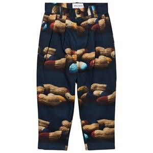 Wolf & Rita Boys Bottoms Blue André Trousers Peanuts
