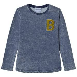 Wolf & Rita Boys Tops Blue Joaquim Long Sleeve Sweater Denim