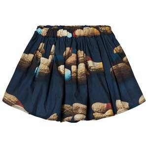 Wolf & Rita Girls Skirts Blue Leonor Bloomers Peanuts