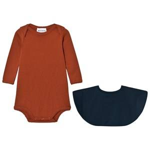 Wolf & Rita Unisex All in ones Orange Aurora Body Orange