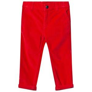 Billybandit Boys Bottoms Red Red Corduroy Pants