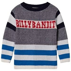 Billybandit Boys 1 Jumpers and knitwear Multi Retro Branded Sweater