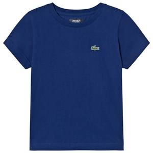 Lacoste Boys Tops Blue Branded Ultradry Tee Dark Royal