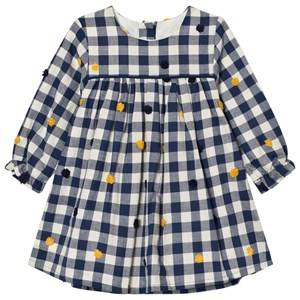 Absorba Girls Dresses Navy Navy Check Dress