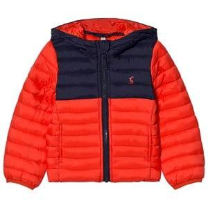 Joules Boys Coats and jackets Red Red Navy Packaway Puffer Jacket