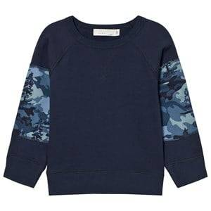 Stella McCartney Kids Boys Jumpers and knitwear Navy Navy Kip Sweatshirt