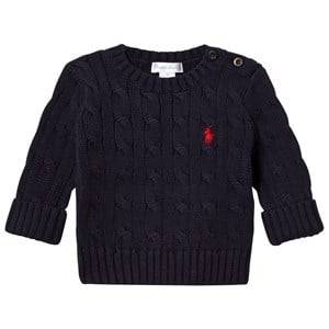 Ralph Lauren Boys Jumpers and knitwear Navy Navy Cable Knit Sweater