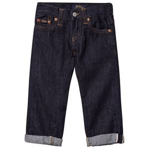 Ralph Lauren Boys Bottoms Navy Eldridge Skinny Jeans