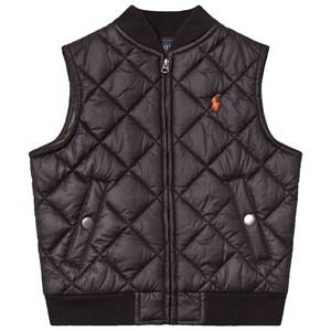 Ralph Lauren Boys Coats and jackets Black Black Quilted Gilet
