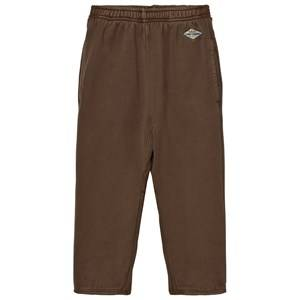 The Animals Observatory Girls Bottoms Brown Sculptor Pants Brown Uniforms Logo
