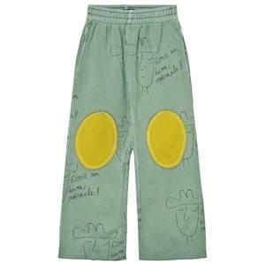 The Animals Observatory Unisex Bottoms Green Horse Pants Turquoise Hats