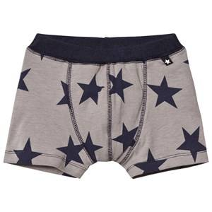 Molo Boys Underwear Jon Trunks Navy Blazer Star
