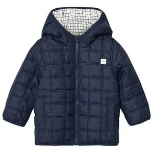 Carrément Beau Boys Coats and jackets Navy Navy Square-Quilted Puffer Jacket