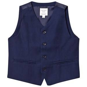 Carrément Beau Boys Coats and jackets Navy Navy Waistcoat