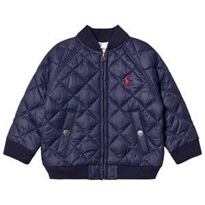 Ralph Lauren Boys Coats and jackets Navy Navy Quilted Baseball Jacket