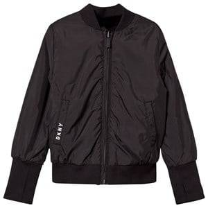 DKNY Girls Coats and jackets Black Reversible Bomber Jacket
